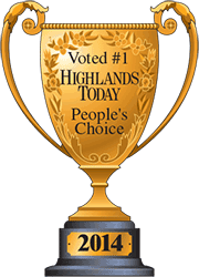 Voted #1 Highlands Today People's Choice Florist - Hobby Hill Florist