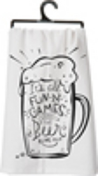 It's All Fun And Games Tea Towel from your Sebring, Florida florist