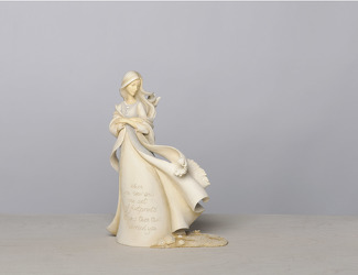 Footprints Angel Figurine from your Sebring, Florida florist