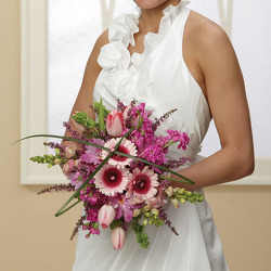 Pink Dreams Bridal Bouquet from your Sebring, Florida florist