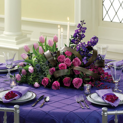 Purple Passion Reception Centerpiece from your Sebring, Florida florist