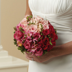 Blushing Beauty Bridal Bouquet from your Sebring, Florida florist