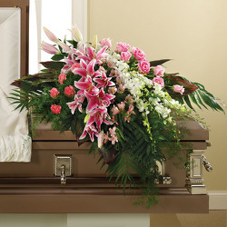 In Her Honor Casket Spray from your Sebring, Florida florist