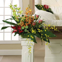 Eternal Peace Pedestal Arrangement from your Sebring, Florida florist