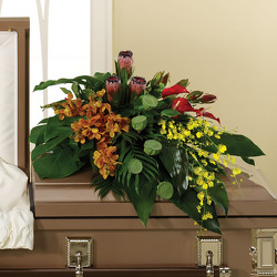 Eternal Peace Casket Spray from your Sebring, Florida florist
