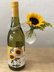 Have Your Wine and Sunflowers Too from your Sebring, Florida florist
