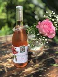 Have Your Wine and Pink Roses Too from your Sebring, Florida florist