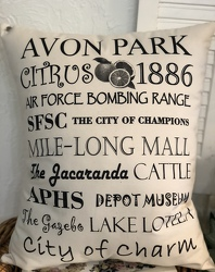 Avon Park Pillow from your Sebring, Florida florist