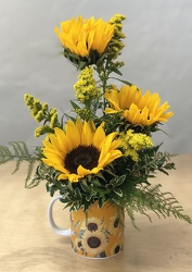 Mug of Sunshine from your Sebring, Florida florist