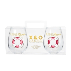 Ahoy Matey Stemless Wine Set from your Sebring, Florida florist