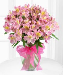 Alstroemeria Vase Bouquet from your Sebring, Florida florist