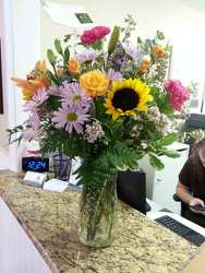 Just Perfect Vase Arrangement from your Sebring, Florida florist