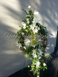 Statement Wreath from your Sebring, Florida florist