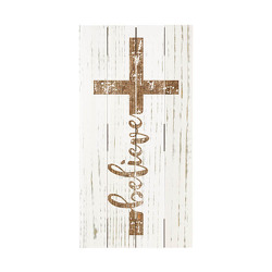 Believe Cross Painted Wood Pallet from your Sebring, Florida florist
