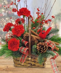 Christmas Basket of Cheer from your Sebring, Florida florist