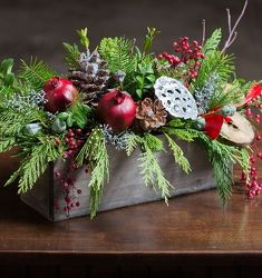Christmas Gathering from your Sebring, Florida florist
