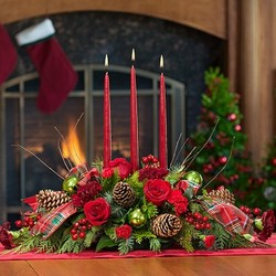 Candlelit Christmas from your Sebring, Florida florist