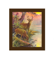 Deer Wall Canvas from your Sebring, Florida florist