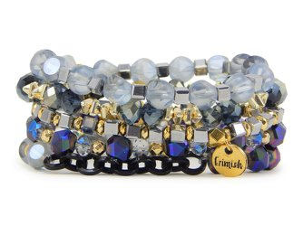 Erimish Dolly Stack Bracelets Set of Five from your Sebring, Florida florist