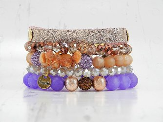 Zora Stack Bracelet Set from your Sebring, Florida florist