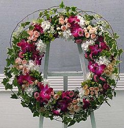 Eternity Wreath from your Sebring, Florida florist