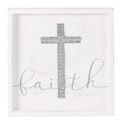 Faith Cross Plaque from your Sebring, Florida florist