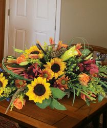Lush Fall Centerpiece from your Sebring, Florida florist