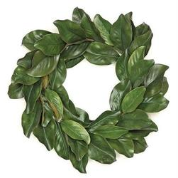 Faux Magnolia Wreath from your Sebring, Florida florist