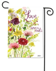 Love Never Ends Garden Flag from your Sebring, Florida florist
