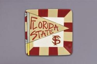 FSU Square Tray from your Sebring, Florida florist