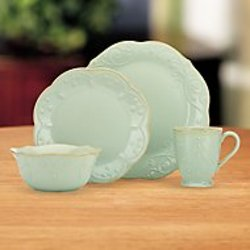 French Perle Ice Blue 4 Pc. Place Setting from your Sebring, Florida florist