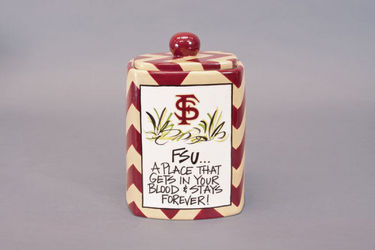 FSU Canister from your Sebring, Florida florist