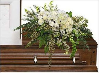 Garden Casket Spray from your Sebring, Florida florist