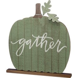 Gather Wood Slat Sitter from your Sebring, Florida florist