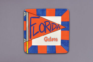 Gators Square Tray from your Sebring, Florida florist