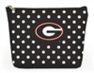 Georgia Bulldogs Polka Dot Pouch from your Sebring, Florida florist