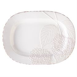 Hydrangea Ceramic Platter from your Sebring, Florida florist