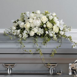 Loving Memories Casket Spray from your Sebring, Florida florist