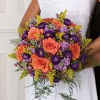 Hot Tropics Bridal Bouquet from your Sebring, Florida florist