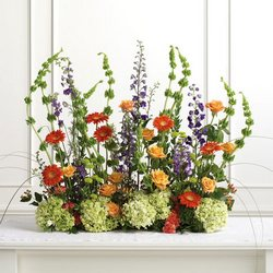 Wildflower Look Altar Arrangement from your Sebring, Florida florist