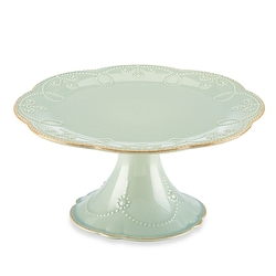 French Perle Ice Blue Cake Plate from your Sebring, Florida florist