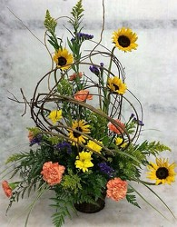 Country Tribute from your Sebring, Florida florist