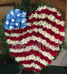 Patriotic Heart from your Sebring, Florida florist
