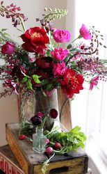 Wisps Of Cranberry from your Sebring, Florida florist