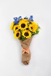 Sunflowers Wrapped  from your Sebring, Florida florist