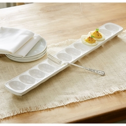 Deviled Egg Tray and Fork from your Sebring, Florida florist