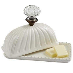 Door Knob Butter Dish from your Sebring, Florida florist