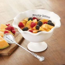 Fruit Pedestal Bowl Set from your Sebring, Florida florist