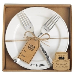 Mr and Mrs Plate Set from your Sebring, Florida florist