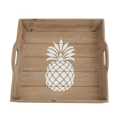 Pineapple Wood Tray
